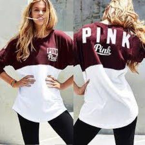 Victoria Secret PINK varsity crew